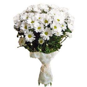 Букет «Очаровашка» хризантемы