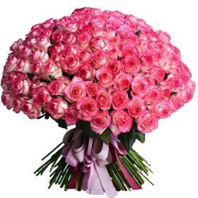 """букет 101 роза """"Джумилия"""" товар"""