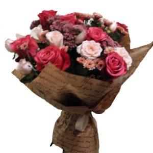"""Букет """"С юбилеем"""" микс цветов"""