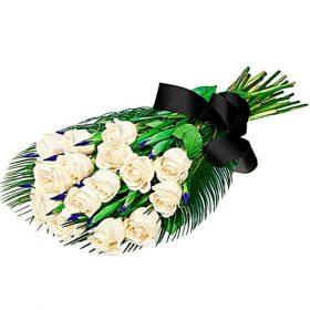 Живые цветы на похороны фото