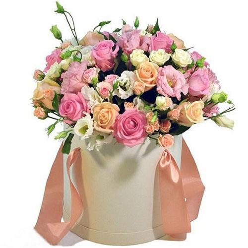 Приятная коробочка микс цветов