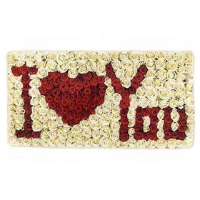 Букет «Я люблю тебя» 301 роза фото