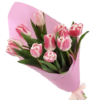 Фото товара 11 белых тюльпанов