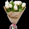 Фото товара 11 красных тюльпанов