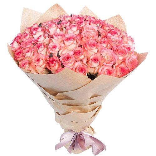 """фото товара 51 роза """"Джумилия"""""""