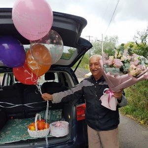 Букет на юбилей Прима Роза в Полтаве фото