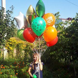 15 воздушных шариков с доставкой в Полтаве фото