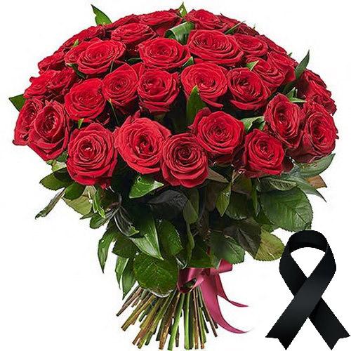 Фото товара 50 красных роз